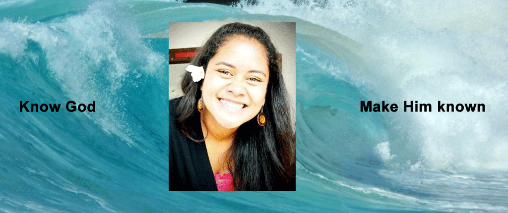 "Danielle – Micronesia ""I received revelation and found ways to apply the Word of God into my life. I would recommend the school to anyone"""